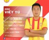 Đinh Viết Tú, chàng lãng tử của bóng đá Nam Định