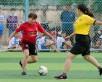 HỘI THAO NGÀNH GIÁO DỤC ĐÀO TẠO TP VĨNH LONG 2019: Xác định 2 cặp vào chung kết môn bóng đá.