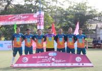 Vòng 2 giải bóng đá Vô địch sân 7 Thừa Thiên Huế - Tranh Cup Bulbal 2021 (TPL-S1): Các đội khách mời gieo sầu cho 4 đội bóng chủ nhà.