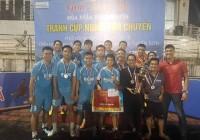 Giành chiến thắng trong loạt luân lưu cân não Adaline Hotel & Suite vô địch giải bóng đá Mùa Xuân Thiện Nguyện - Tranh Cúp Người Vận Chuyển lần thứ 1 năm 2018.