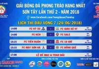 PHÁN XÉT CUỐI CÙNG | VÒNG 7 GIẢI HẠNG NHẤT SƠN TÂY SLO - S2 (24/06/2018)