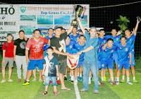 Thuận Trị (Vĩnh Long) vô địch Giải bóng đá Tứ hùng Vĩnh Long mở rộng 2019
