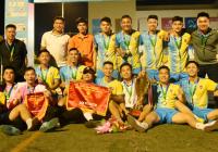 Đội bóng phong trào Dcar Miền Trung nhận tài trợ khủng từ Zetbit Sài Gòn và Gà Spa trước mùa giải 2021 với số tiền 200 triệu.