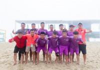Đội bóng Anh Quyên FC gây ấn tượng mạnh tại Lễ hội bóng đá bãi biển do Vietfootball tổ chức tại khu vực Đà Nẵng.