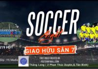 Giao hữu Tất niên Trung tâm bóng đá HDT Tân Bình - HCM