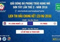 VĨ THANH | CHUNG KẾT GIẢI HẠNG NHÌ SLT - S1 2018