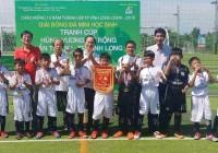 Đội Trường TH Trần Đại Nghĩa đăng quang | Giải Bóng đá mini học sinh Tranh Cúp Hùng Vương mở rộng lần 15- TP Vĩnh Long 2019