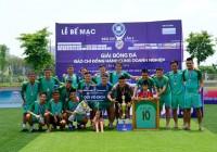 Chung kết Giải bóng đá Báo chí đồng hành cùng Doanh nghiệp lần thứ 2 - năm 2019: Hải Anh lên ngôi vô địch