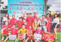 Vượt qua nhiều đội bóng mạnh A65 đăng quang ngôi Vô địch Giải bóng đá Tài Phát mở rộng - Tranh Cúp Mộc Vân Massage & Spa lần V năm 2018.