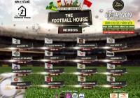 Họp kỹ thuật và bốc thăm chia bảng giải bóng đá The Football House Members lần 1 năm 2019.