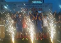 Văn phòng UBND thành phố Đà Nẵng vô địch Giải bóng đá Mini - Tranh Cúp dự án phát triển bền vững thành phố Đà Nẵng 2019.