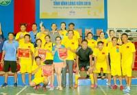 Sở Văn hóa Thể thao- Du lịch vô địch bóng đá và bóng chuyền hơi | Hội thao Công đoàn viên chức tỉnh Vĩnh Long 2019