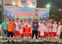 Idemitsu lên ngôi vô địch Giải bóng đá Triển Phát - Idemitsu năm 2019