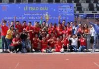 Bế mạc giải bóng đá ngành Sơn Mực In phía Bắc lần thứ 10 – 2019 Gala ấn tượng - Áo Đỏ toàn thắng - Bất ngờ G8