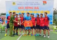 Kết thúc Giải bóng đá chào mừng ngày thành lập Phòng Cảnh sát môi trường Công an tỉnh Quảng Nam (25/12/2007-25/12/2018) và Mừng Xuân Kỷ Hợi 2019