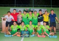 Mây Store FC vô địch giải bóng đá The Football House Members 2019 sau loạt đấu súng cân não.