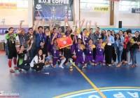 MINH SPORT lên ngôi vô địch U23 Futsal -CÚP B.O.B COFFEE (Đồng Tháp)
