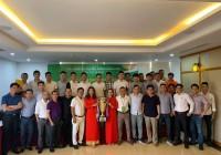 Lễ bốc thăm chia bảng giải bóng Truyền thống Sông Lam Đà Nẵng lần thứ 7 năm 2019.