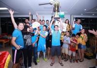 Giải 95-98 Hà Nội Cup 2018: Ams Quang Trung vô địch. Ca sỹ Thái Thùy Linh là thành viên