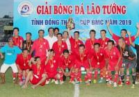 Đồng Tháp 2 đăng quang Giải bóng đá lão tướng Đồng Tháp mở rộng - Cup BMC 2019