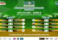Kết quả - BXH lượt 2 | Giải bóng đá doanh nghiệp toàn quốc lần thứ 3 - Cúp VCCI năm 2018
