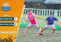 Highlights: TRẺ THÀNH PHỐ - vs - QUANG TRUNG 94-98 | Vòng 2 - CUP MẠNH LINH 2020