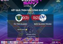 PEN | BIDV QUANG TRUNG vs TRÀ DILMAH || VCK vô địch sân 7 TP Hà Nội lần 1 - 2017
