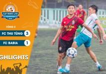 Highlights: FC THU TÙNG - vs - FC BA BIA | Vòng 2  - CUP MẠNH LINH 2020