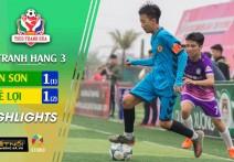 Highlights : LÊ LỢI  -vs- TÂN SƠN | Tranh hạng ba - THCS TP. Thanh Hóa - Cup TH Sport 2020.