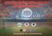 Highlight - BẢO NGỌC vs  THANG MÁY TÂN TIẾN | Giải bóng đá đồng hương Ninh Bình mở rộng lần VIII - 2018