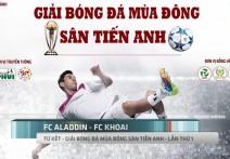HIGHLIGHT | KHOAI - ALADDIN | Tứ kết - Giải bóng đá mùa đông Sân Tiến Anh - Lần 1