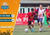 Highlights: FC THU TÙNG - vs - QUANG TRUNG 9498 | Vòng 1 - CUP MẠNH LINH 2020