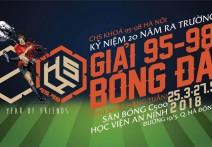 Tổng hợp bàn thắng Vòng 3: Giải bóng đá 95 - 98 Hà Nội 2018