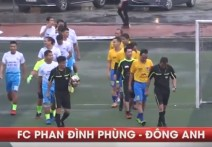 Highlight: PHAN ĐÌNH PHÙNG - ĐÔNG ANH | Hạng 3.Serie A4 - Giải BĐ 95-98 HN Cup 2018