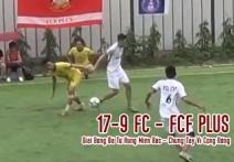 Highlight:  17-9 FC - FCF PLUS | Giải bóng đá tứ hùng Biền Bắc - Chung tay vì cộng đồng