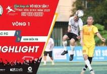 Highlights: ĐÀ BẮC FC - KIM BÔI FB | Vòng 1 - HBL S1 2020