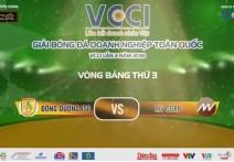 Highlight: ĐÔNG DƯƠNG JSC - MV CORP | V3 - Giải BĐ Doanh Nghiệp Toàn Quốc VCCI - Lần 3 Năm 2018