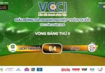 Highlight: LUCKY THANH HÀ - TÚ ĐẠT | V2 - Giải BĐ Doanh Nghiệp Toàn Quốc VCCI - Lần 3 Năm 2018