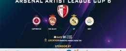 ARSENAL ARTIST LEAGUE 6TH