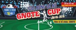 Giải bóng đá nữ Gnote cup lần VII - 2018