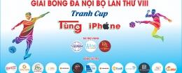GIẢI BÓNG ĐÁ DOANH NHÂN TRẺ ĐÀ NẴNG TRANH CUP TÙNG IPHONE