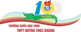 Quốc Học Vinh - Huỳnh Thúc Kháng Open Cup lần thứ 1 năm 2020
