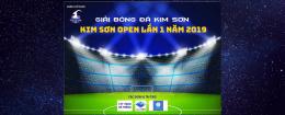 Giải bóng đá Kim Sơn Open lần 1 năm 2019