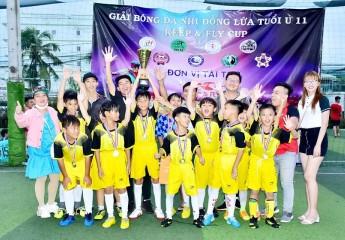 GIẢI BÓNG ĐÁ U11 ĐBSCL LẦN THỨ III- KEEP&FLY CUP 2020:Thất bại 4-3 trước The Win FC (Cà Mau), Toàn Anh FC (TP Vĩnh Long) nhận HCB