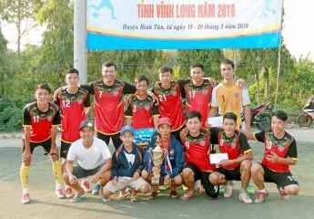 Đội Thuận An (TX Bình Minh) vô địch   Giải Bóng đá thanh niên nông dân tỉnh Vĩnh Long 2019
