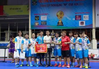 Kết thúc Giải bóng đá nữ phong trào thành phố Đà Nẵng - Tranh Cúp Twingkling Star năm 2019   Phoenix Blue giành chức vô địch