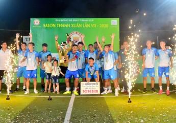 Lộc Tài (Vĩnh Long, Cà Mau) vô địch giải bóng đá sân 7 Salon Thanh Xuân Vĩnh Long lần thứ 7 - 2020