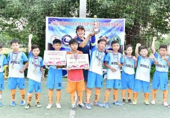 Đội NHN FC (TP Cần Thơ) vô địch Giải bóng đá U10 Cúp Vương Nam Hưng (TX. Bình Minh, Vĩnh Long)