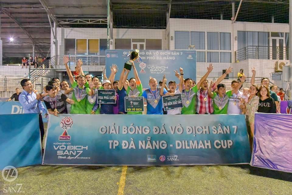 Ngọc Khanh FC Vô địch Giải Vo địch sân 7 TP Đà Nẵng