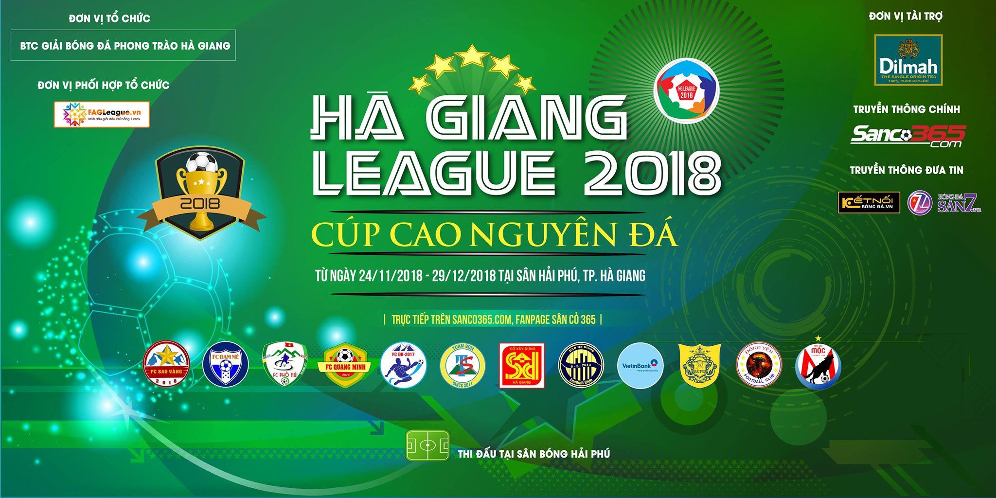 Hà Giang League 2018 - Cup Cao Nguyên đá